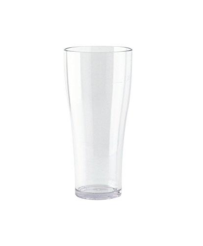WACA® Weißbierbecher 0,3 l aus glasklarem SAN, stapelbar