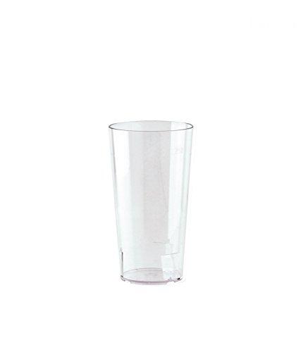 10er Set WACA® Mehrwegbecher 0,2 l aus SAN, bruchunempfindlich, glasklar