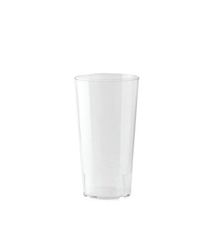 10er Set WACA® Mehrwegbecher 0,3 l aus PP, unzerbrechlich, milchig transparent