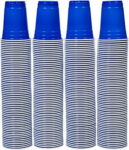 Kunststoff-Einwegbecher, 473 ml, (240er-Pack), blau
